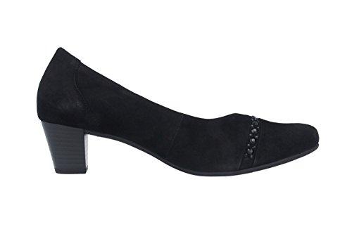 Gabor Shoes Comfort 36.182 Chaussures femme, Escarpins, Chaussures à talons Cuir Black (Black)