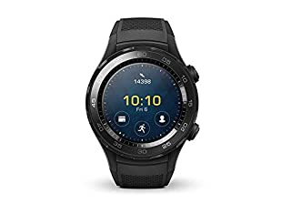 Huawei Watch 2 Smartwatch, 4 GB ROM, Android Wear, Bluetooth, Wifi, Monitoraggio della frequenza cardiaca, Nero (Carbon Black) (B06XBLS9B4) | Amazon price tracker / tracking, Amazon price history charts, Amazon price watches, Amazon price drop alerts