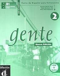 Gente 2 nueva edicion libro del trabajo + cd