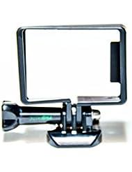 Protastic Rahmen-Halterung Schutzhülle mit Schnalle für GoPro Hero 3,3+, 4Kamera, Schwarz