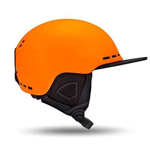 Casque de ski extérieur casque de sécurité hiver chaud unisexe (Couleur : C-L)