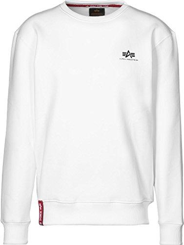 Alpha Industries Basic Small Logo Sweatshirt Weiß L