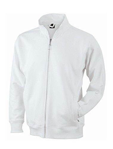 Men's Jacket/James & Nicholson (JN 046) S M L XL XXL 3XL White
