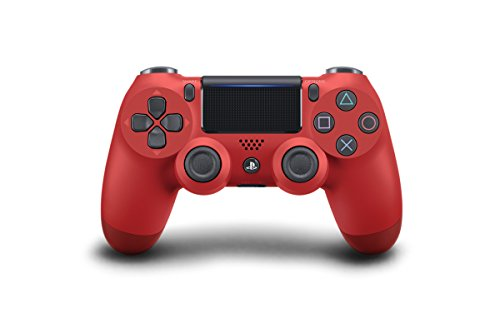 PlayStation 4 - DualShock 4 Wireless Controller, rot (2016) - Standard-remote-wand-station