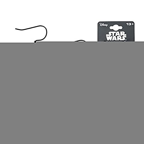 Costumes Jedi Halloween - Star Wars Earrings Black Galactic Empire Symbol