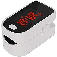 yiouyisheng Ossimetro da Dito Portatile Display LED per Frequenza Saturimetro per Uso Domestico Fitness e Sport a casa Monitor Pulsossimetro