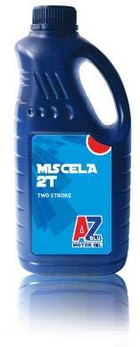 AZ Blu Motor Oil Olio per Miscela Motori a 2 Tempi, Miscela 2T, RAZOD001, (1)