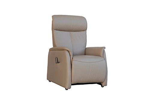 Fernsehsessel Echtleder TV Sessel mit Aufstehhilfe 2 Motoren - 2