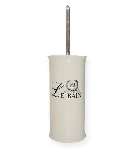 Clayre & Eef 60117 WC-Bürste Toilettenbürste Keramik Metall Le Bain - Paris Wc-bürste