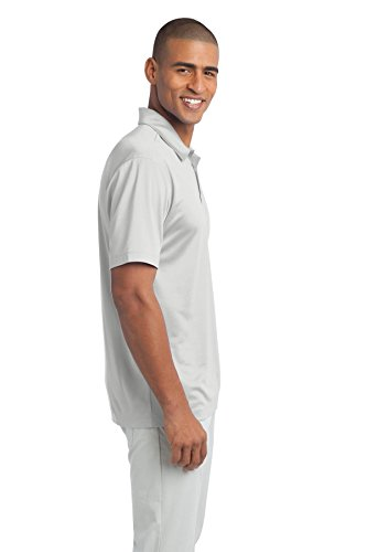 Port Authority Poloshirt für Herren Weiß