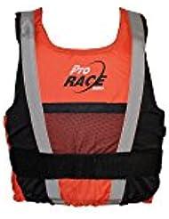 Lalizas Pro Race Ayuda de Flotabilidad, Unisex Adulto, Naranja, 70 kg