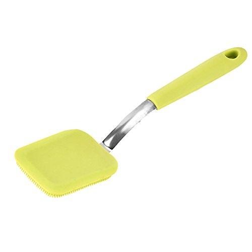 Clara Multifunktions Küche Reinigung Pinsel lang Griff Silikon Topf Schale Waschbürste
