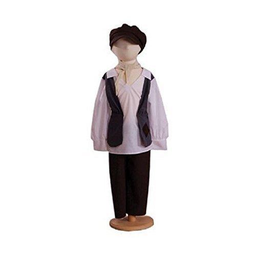 Eddy Urchin Boy (Victorian) - Kids Costume 3 - 5 years by A2Z (Boy Urchin Kostüm)