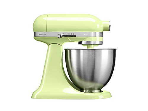 KitchenAid 5KSM3311XEHW, 3,3-L-Mini-Küchenmaschine mit kippbarem Motorkopf, HONEYDEW