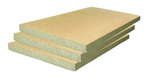 3 Stück Schamotte 40x30x3 cm Schamotteplatte