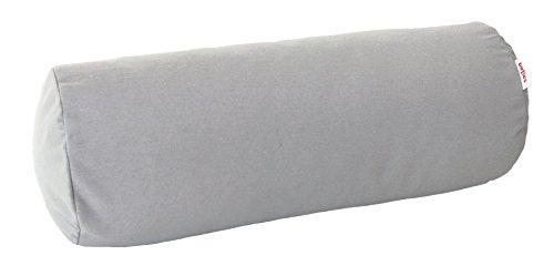 beties Wunschton Nackenrollen Bezug ca. 15x40 cm in Großer Sortiments- und Größenauswahl für in & Outdoor (Silber)