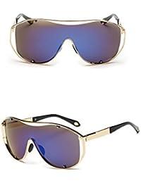 GUO Las Gafas de Sol de Color Movimiento cinematográfico del Hombre Gafas de Metal C
