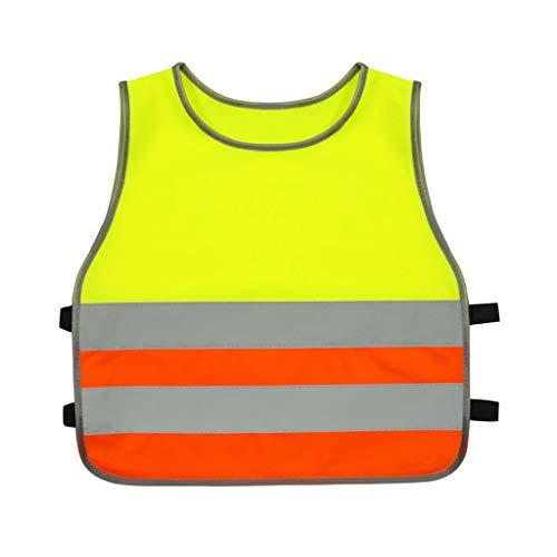 Sicherheitsweste Schutzweste Kollektive Aktivität Fluoreszierende Kleidung außerhalb des Unterrichts Reflektierende Weste