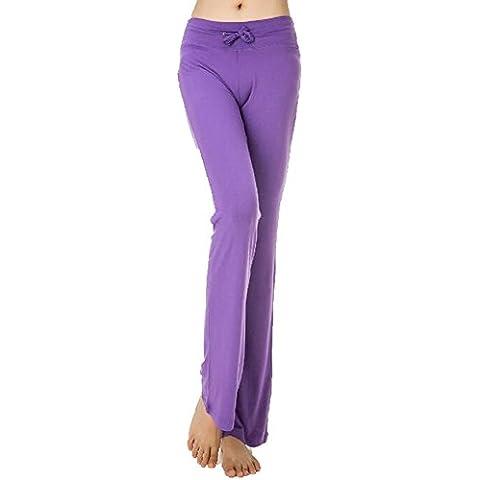 Greatrees da donna modale vita lounge pantaloni Yoga Athletic Work Out