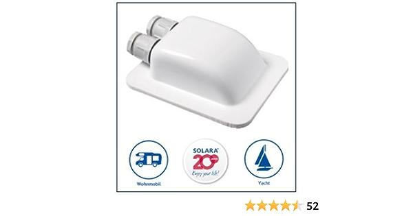Solaraâ Premium Abs Solar Dachdurchf Hrung Dd2 Kabeldurchf Hrung Weiÿ Perfekt Auch Für Sat Anlagen Auto