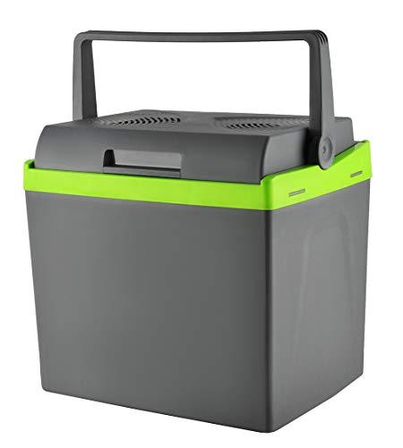 MALATEC Elektrische 25/30 L Kühlbox Wärmebox Campingbox 12V / 230V Stecker #5232, Größe:25L