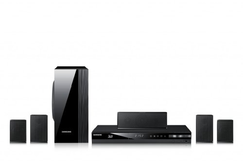 Samsung HT-E4500 5.1 3D-Blu-ray-Heimkinosystem (1000 Watt, WLAN-Ready, HDMI, USB) schwarz