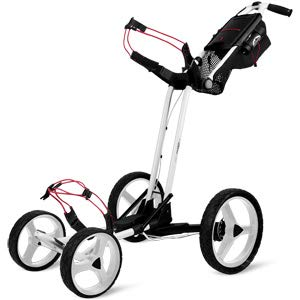 Sun Mountain Pathfinder 4 Wheel Wagen Golf-Trolley - Weiß
