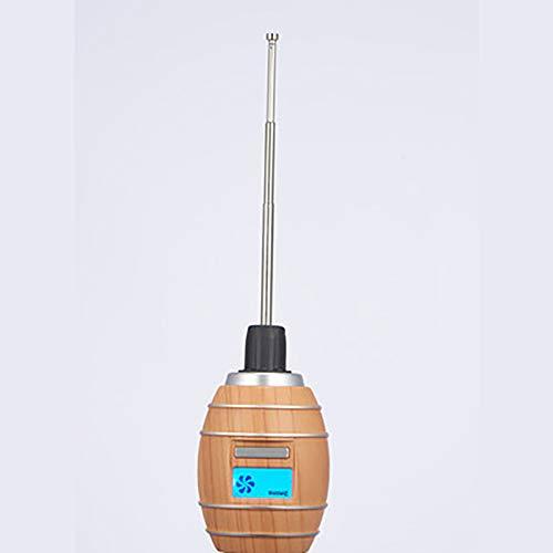 Aijin Intelligente Sauerstoff Karaffe Instant Belüfter Picknick Camping Elektrische Ultraschall Wein Karaffe Tragbare Elektrische Schnelle Karaffe 2 in 1 Tool Party Einfache Bedienung