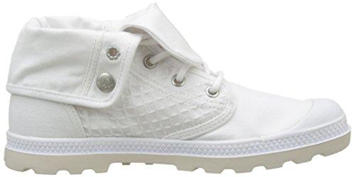 Palladium Damen Baggy Low Lp Sneaker Weiß (White/Moonbeam)