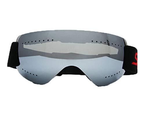 Coniea Sportbrille Windschutz TPU+PC Polarisationsbrille Jugendliche Sicherheitsbrillen Silber