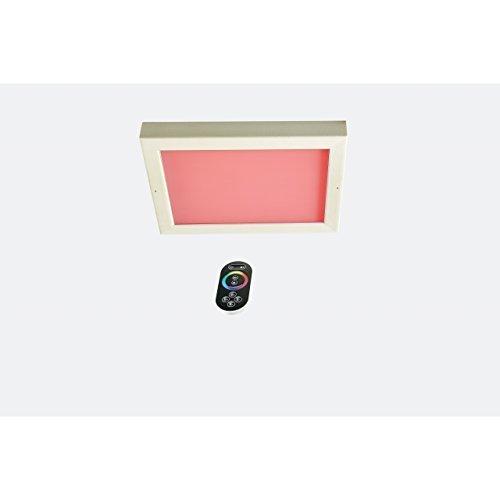 Outdoor-infrarot-sauna (Infraworld LED Farblicht Sion 4A mit Fernbedienung Infrarot und Sauna)