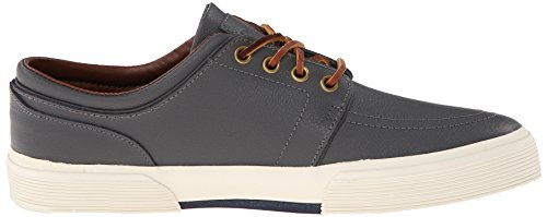 Ralph Lauren Faxon Low SK VLc Olive Mens Trainers Charcoal Grey