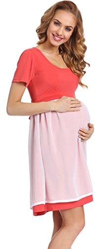 Be Mammy Elegante Vestido de Fiesta Premamá Ropa Maternidad Mujer 91R