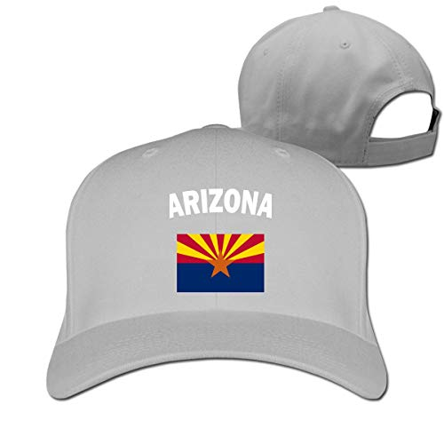 Pimkly Unisex Hüte,Baseballmützen, Arizona Flag-1 Cotton Pure Color Baseball Cap Classic Adjustable Dad Hat - Patagonia-classic Hut
