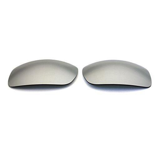 Polarisierte Ersatzgläser für Spy Optic Clash Sonnenbrille silber