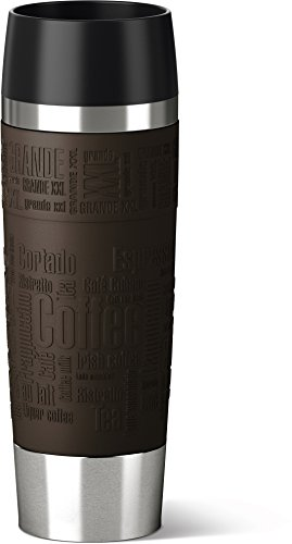 Emsa 515614 Insulated jug, enjoy mobile, 500 ml, quick press closure