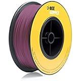 BEEVERYCREATIVE CBA110339 BEESUPPLY PLA Filament für 3D Drucker, 1,75 mm, 330 g, A109, Verkehrspurpur - gut und günstig