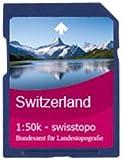 Satmap-carte de suisse 1:50 000 Schweiz Osten 1:50000