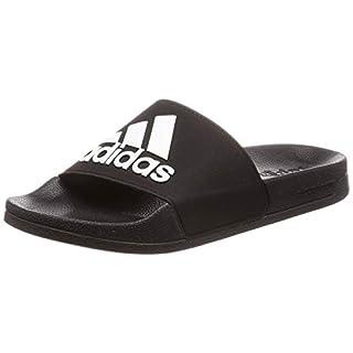 Adidas Adilette Shower, Herren Dusch- & Badeschuhe, Schwarz (Negro 000), 44 1/2 EU