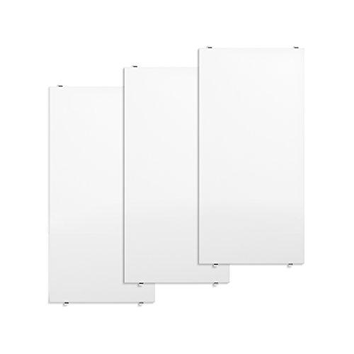 Unbekannt String - Regalboden 58 x 30 cm (3er-Pack), weiß