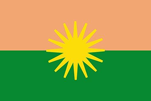 Preisvergleich Produktbild Flagge El Dorado Meta | Municipio de El Dorado Meta | Querformat Fahne | 0.06qm | 20x30cm für Diplomat-Flags Autofahnen