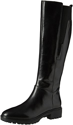 Geox D Peaceful E, Stivali, Donna, Nero (Black), 39