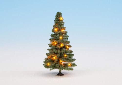 Noch 22121 Beleuchteter Weihnachtsbaum grün