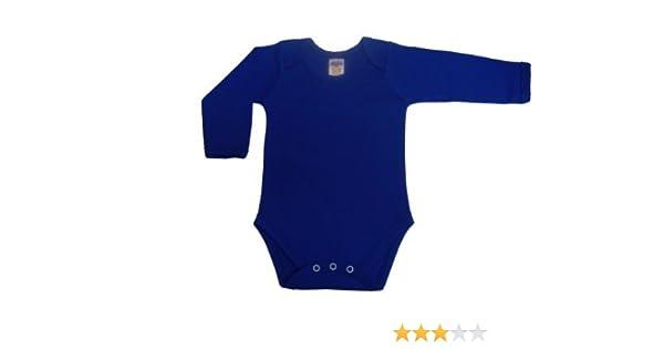 27188c999211 BabywearUK Body Vest Env Neck Long Sleeved - Royal blue - 6 12 ...