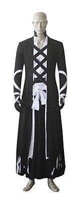 Bleach Ichigo Kurosaki Bankai New Cosplay Kostüm, Größe L: Höhe 175 -180 (Kostüm Bankai Ichigo)