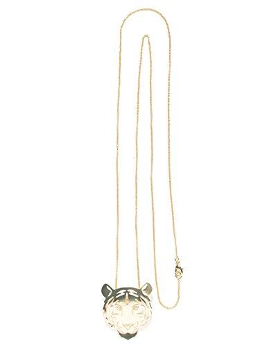 Desigual Damen-Kragen Halskette Messing 18WAGO468010U (Damen Kragen-halskette)