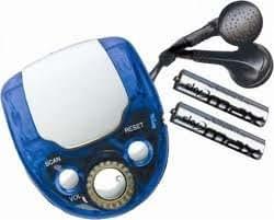 Mini Pocket Scan FM Portable Radio with Earphones