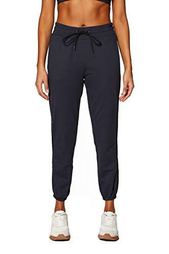 ESPRIT Sports Damen Sweat Pants sl Sporthose, Schwarz (Black 001), W38(Herstellergröße: M)