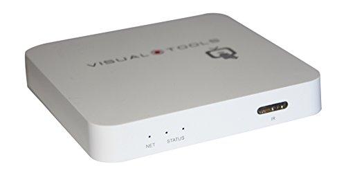 Visual Tools ax-tv-Video-Decoder für IP-Kameras mit HDMI Ausgang (Stromversorgung EU) weiß