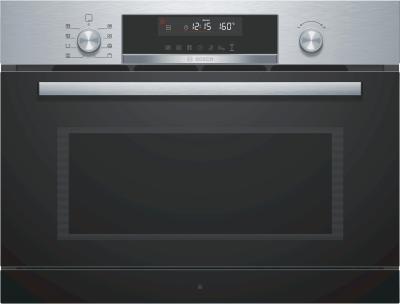 Bosch Serie 6 Microondas Integrado, 36 L, 1000 W, Giratorio, Tocar, 36...